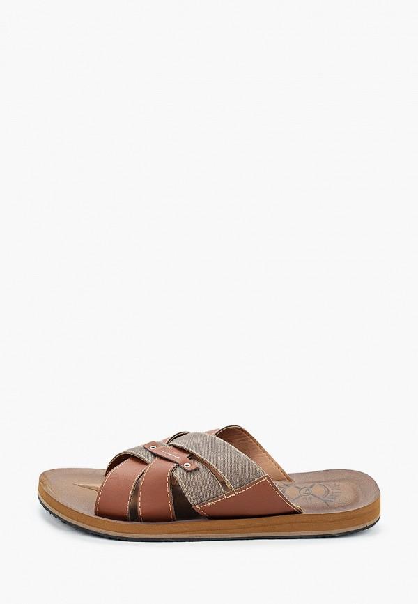 мужские сандалии beppi, коричневые