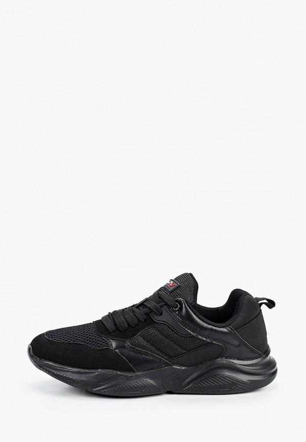 мужские кроссовки beppi, черные
