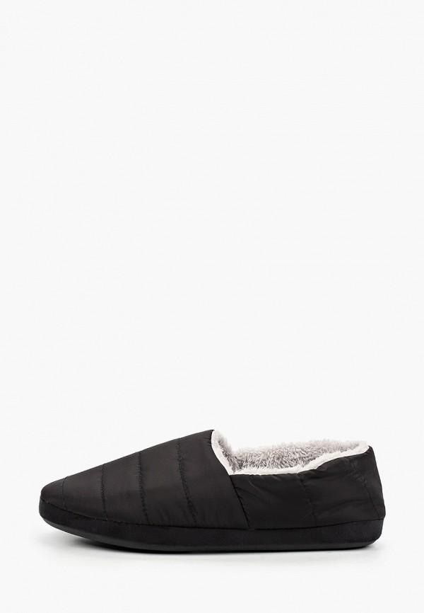 мужские тапочки beppi, черные