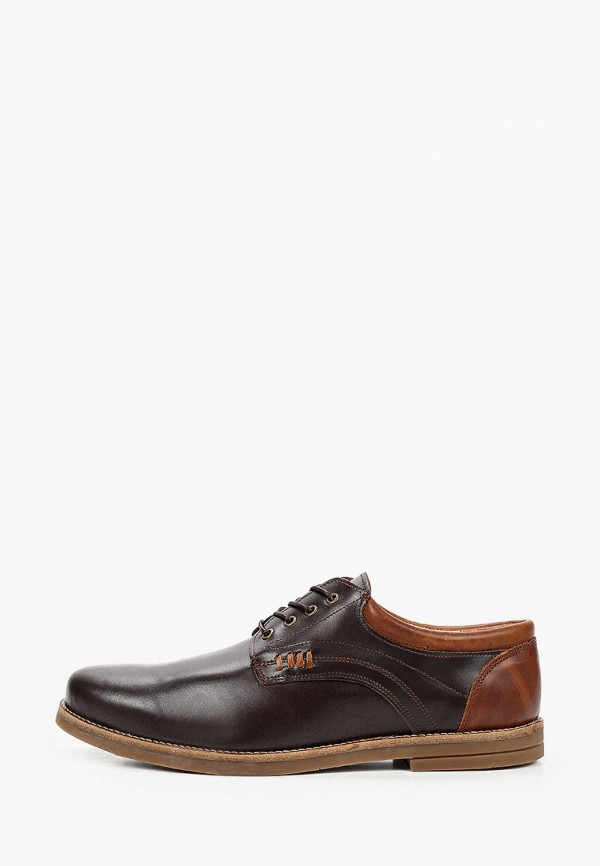 мужские туфли beppi, коричневые
