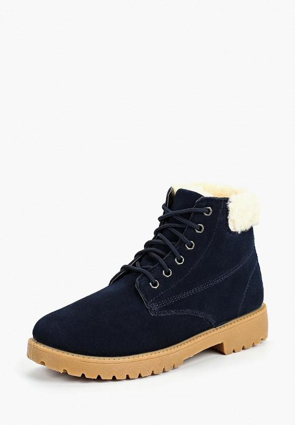 женские ботинки beppi, синие