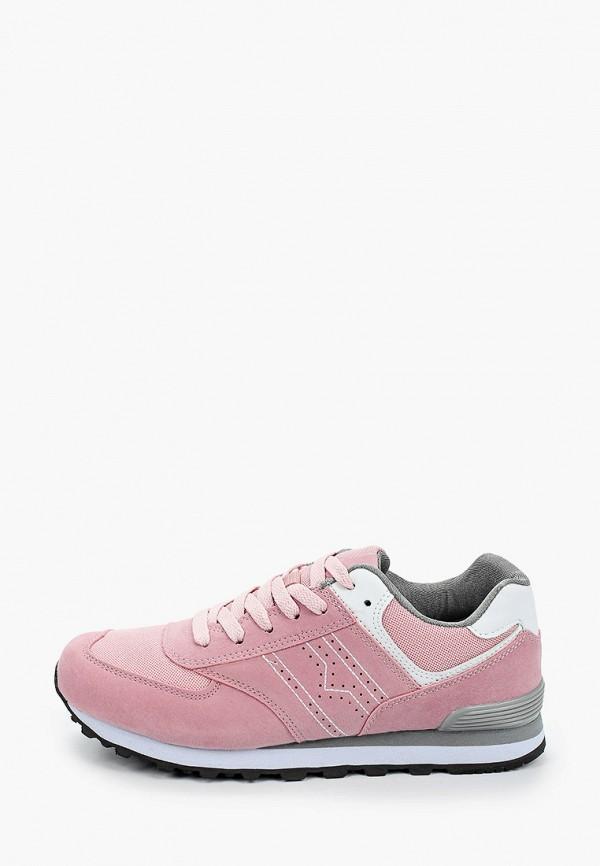 женские кроссовки beppi, розовые