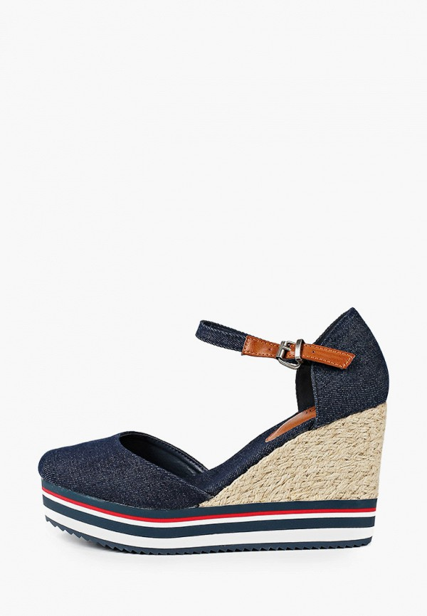 женские туфли beppi, синие