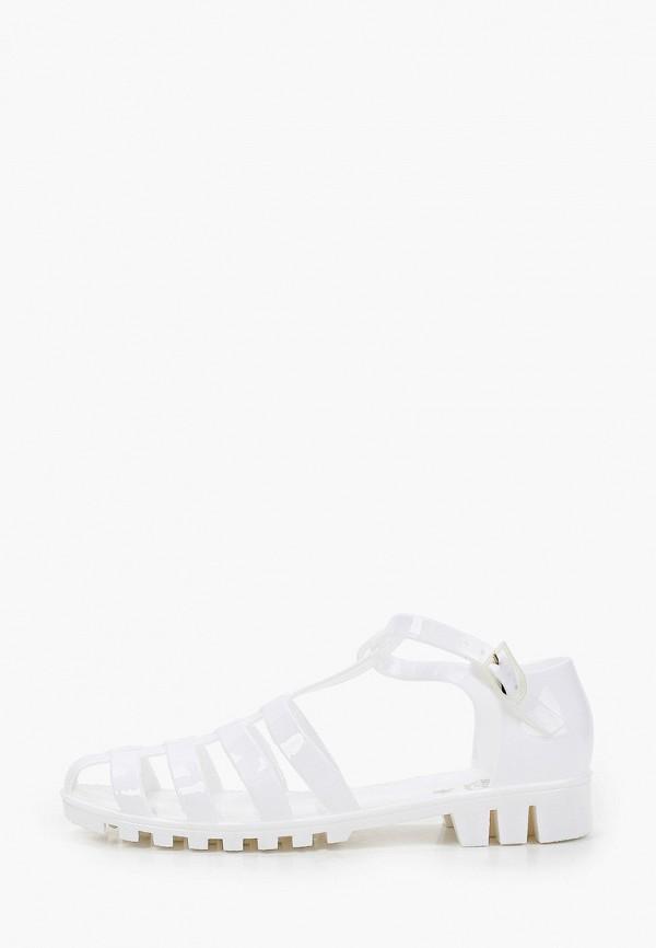 женские сандалии beppi, белые