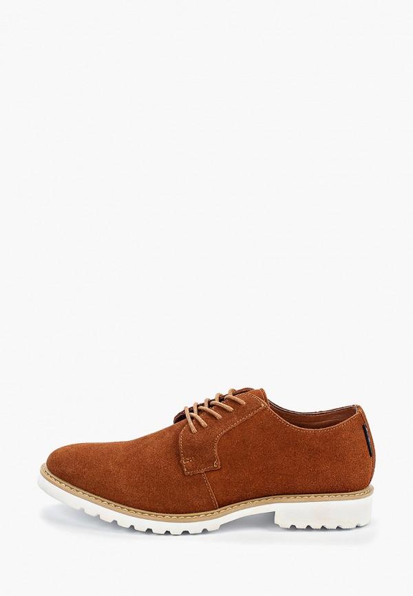 мужские туфли ben sherman, коричневые