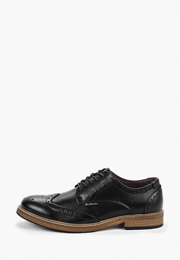 мужские туфли ben sherman, черные