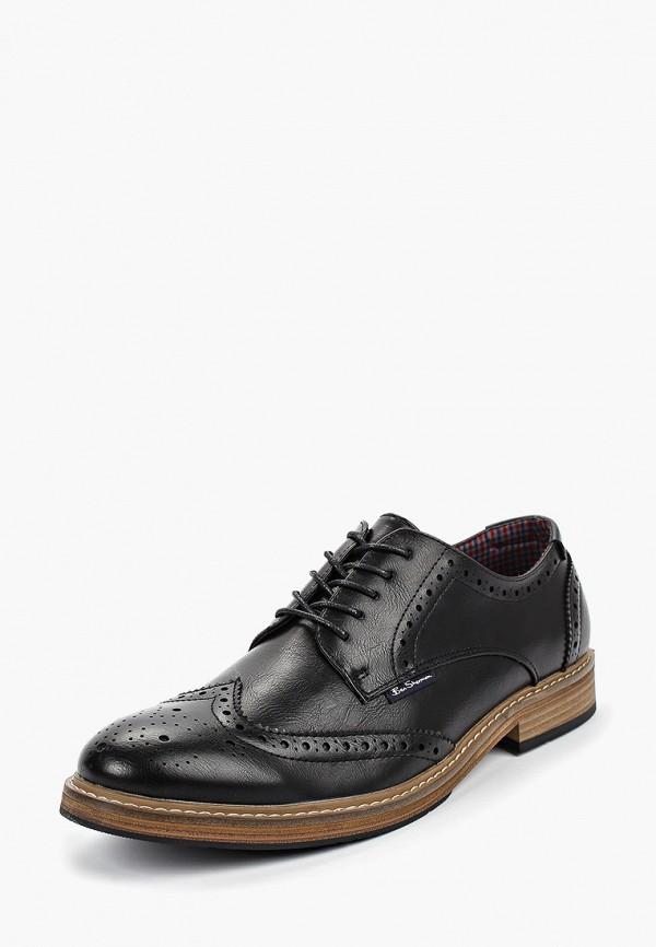 Фото 2 - мужские туфли Ben Sherman черного цвета