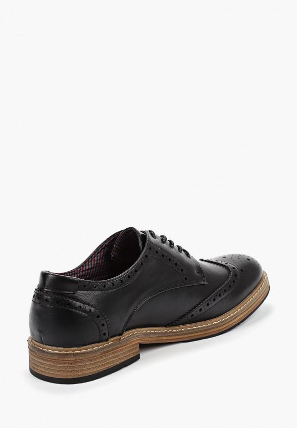 Фото 3 - мужские туфли Ben Sherman черного цвета
