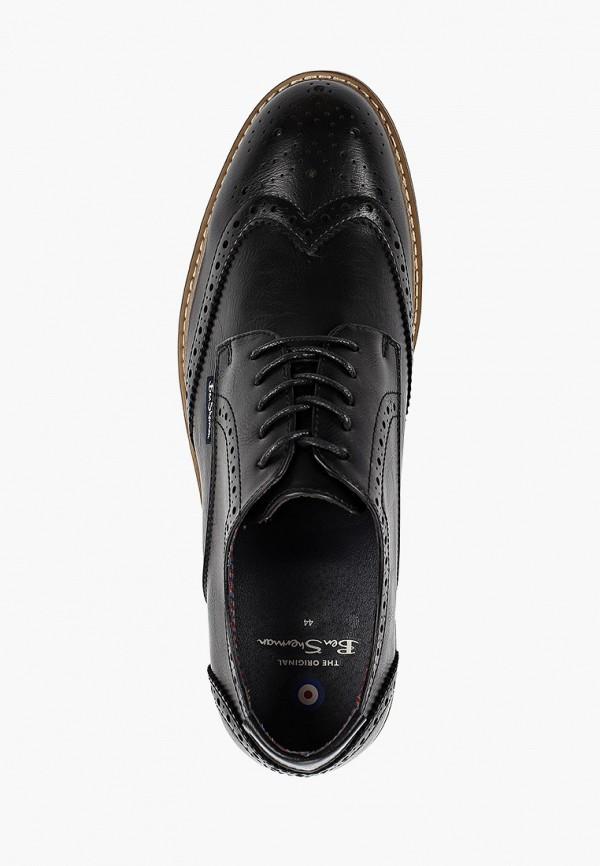 Фото 4 - мужские туфли Ben Sherman черного цвета