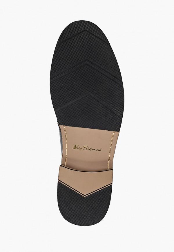 Фото 5 - мужские туфли Ben Sherman черного цвета