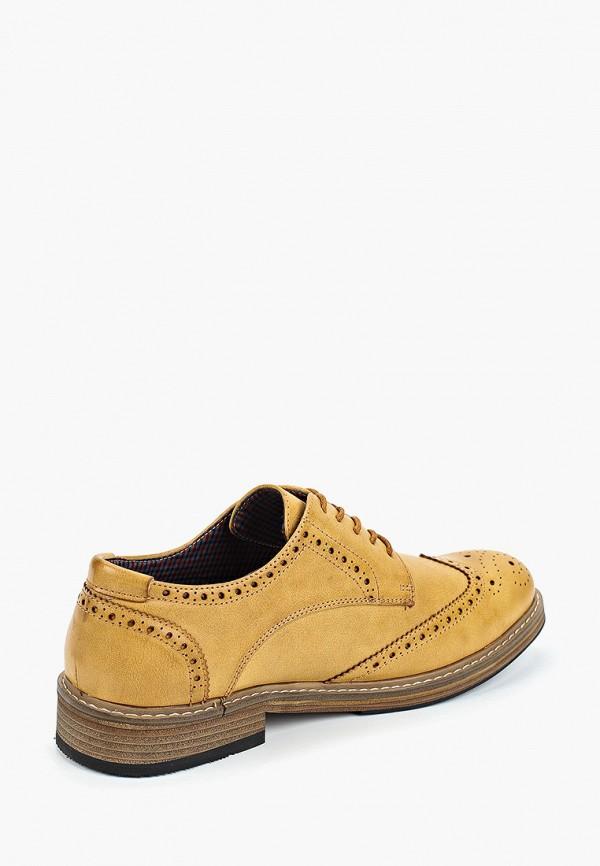Фото 3 - мужские туфли Ben Sherman желтого цвета