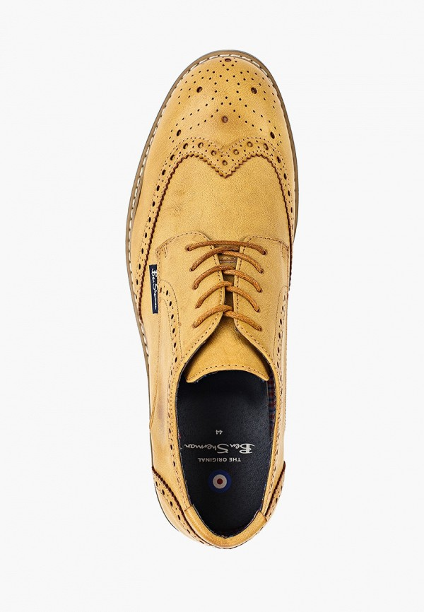 Фото 4 - мужские туфли Ben Sherman желтого цвета