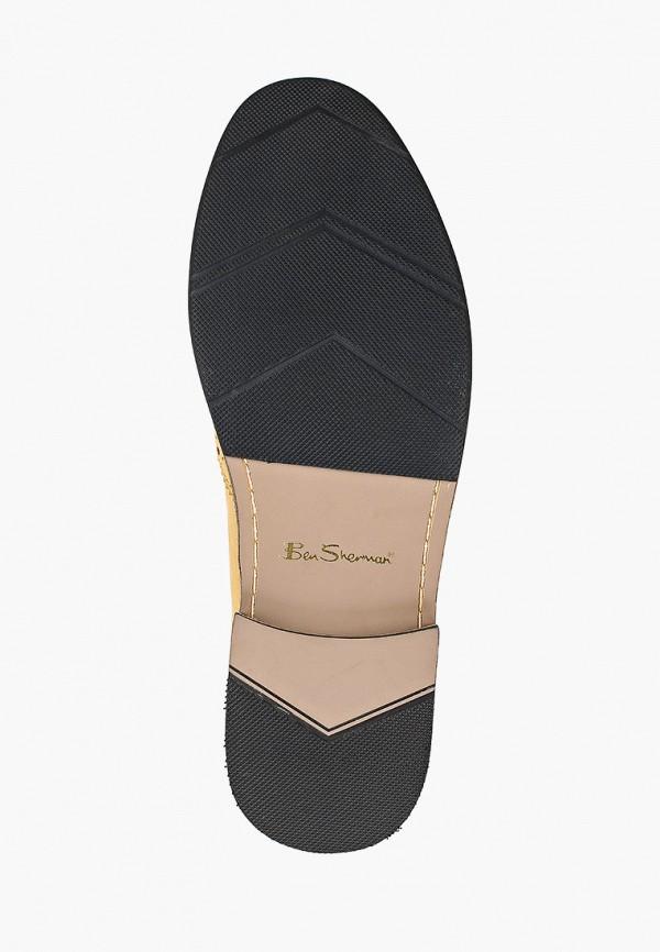 Фото 5 - мужские туфли Ben Sherman желтого цвета