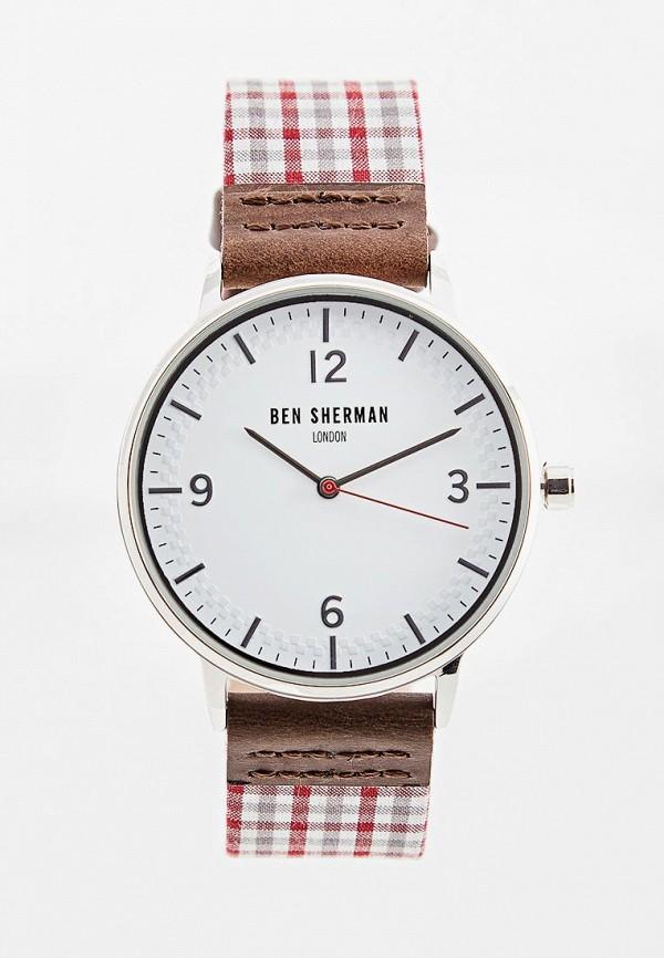 мужские часы ben sherman, бордовые