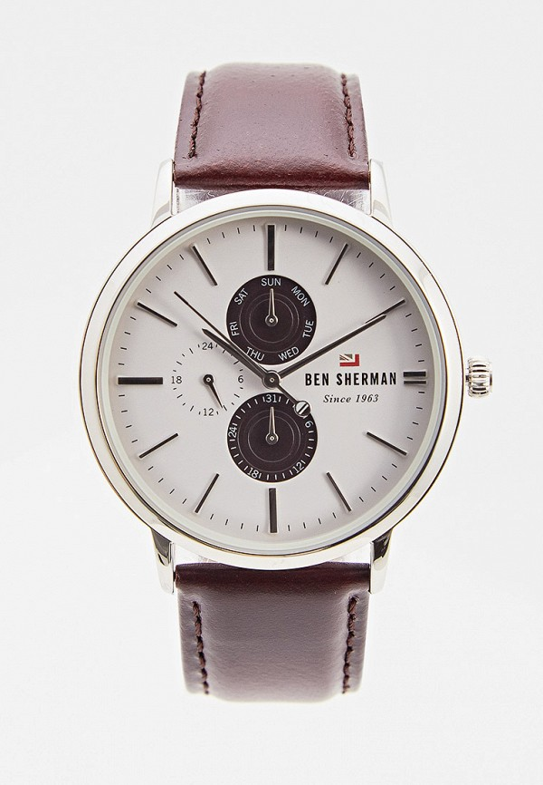 мужские часы ben sherman, серебряные
