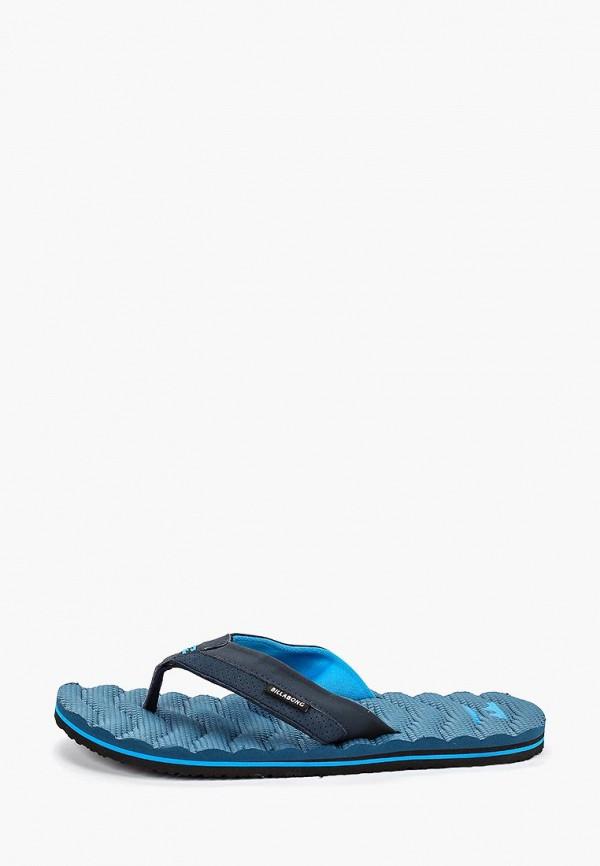 мужские сланцы billabong, синие