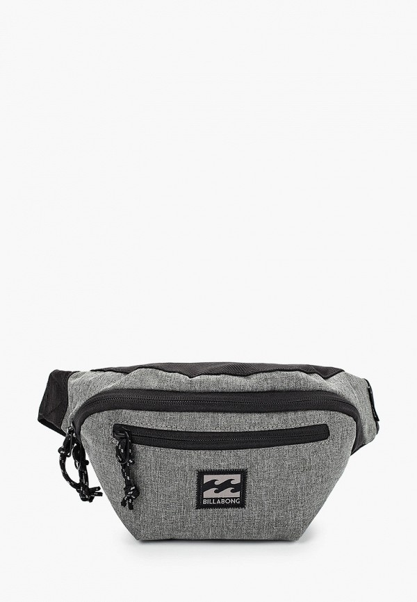 мужская сумка billabong, серая