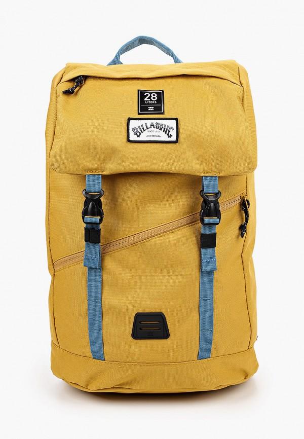 мужской рюкзак billabong, желтый