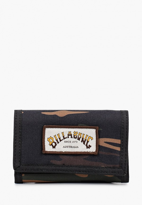 мужской кошелёк billabong, разноцветный