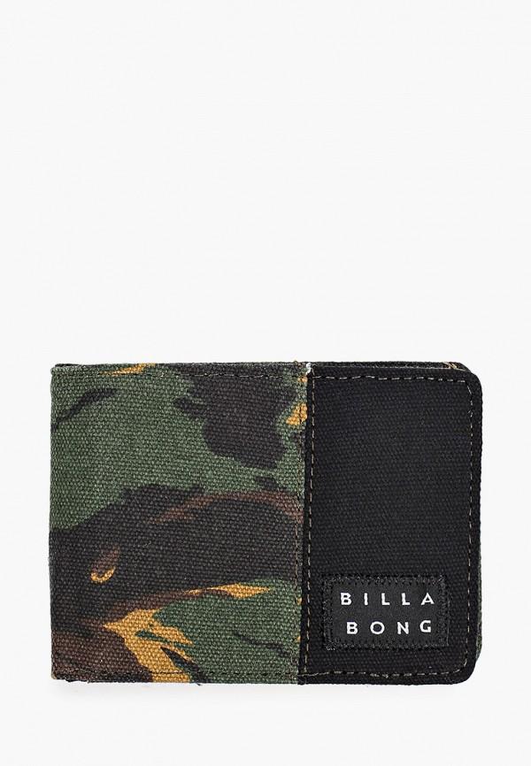 мужской кошелёк billabong, хаки