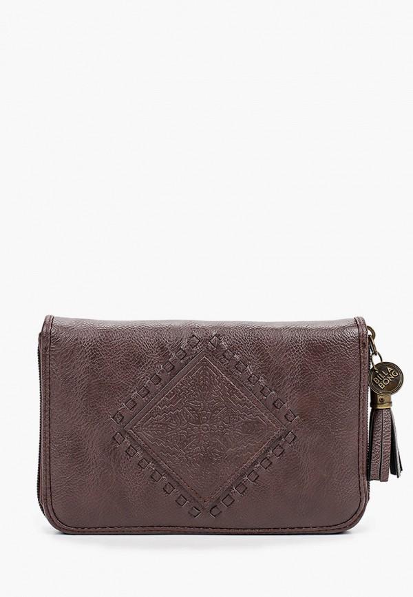 женский кошелёк billabong, коричневый