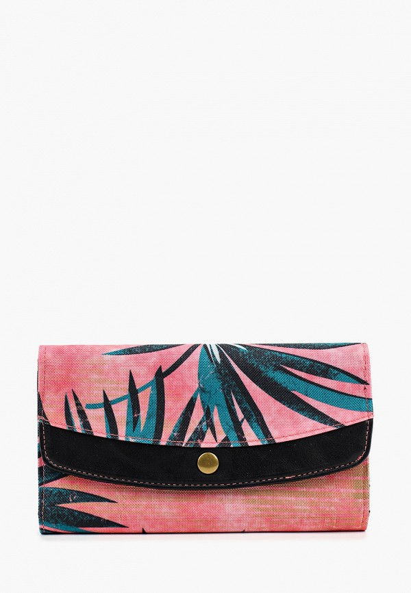женский кошелёк billabong, розовый