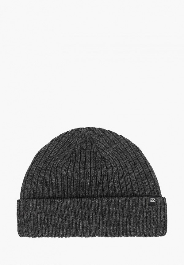 мужская шапка billabong, серая