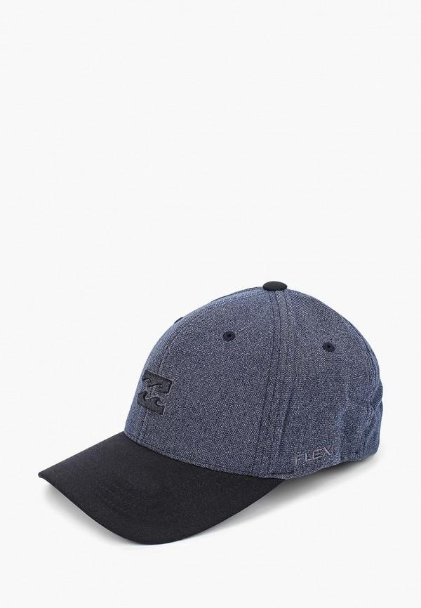 мужская бейсболка billabong, синяя