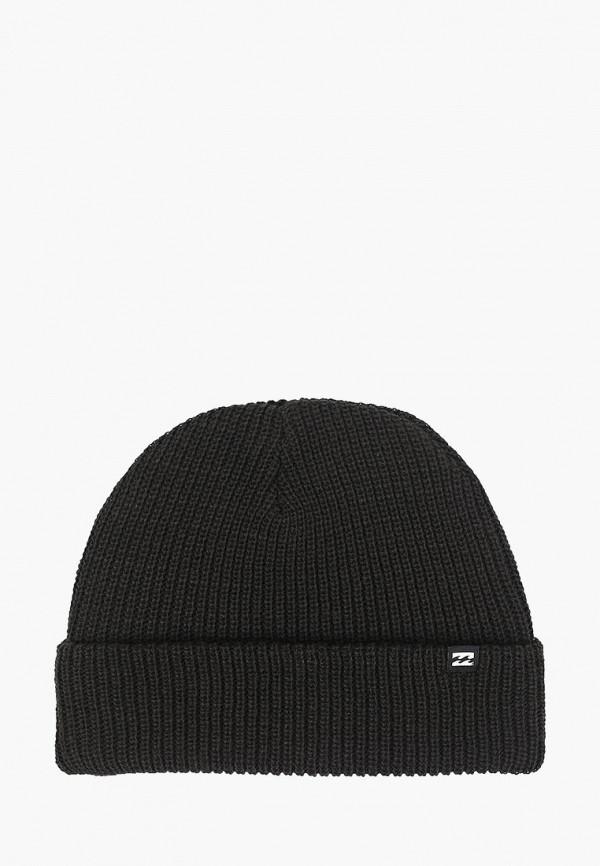 мужская шапка billabong, черная