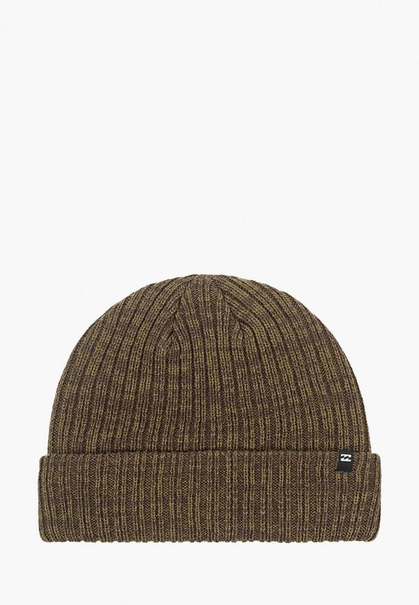 мужская шапка billabong, хаки
