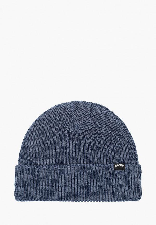 мужская шапка billabong, синяя