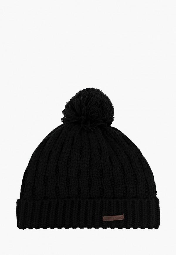 женская шапка billabong, черная