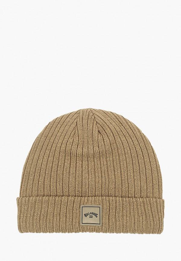 женская шапка billabong, хаки
