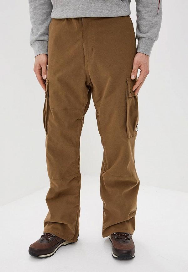 мужские брюки billabong, коричневые
