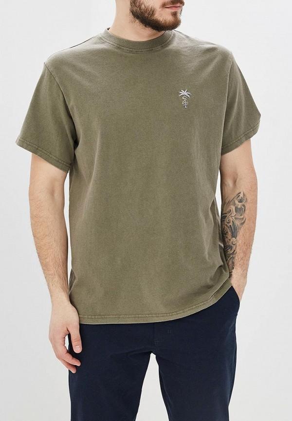мужская спортивные футболка billabong, хаки