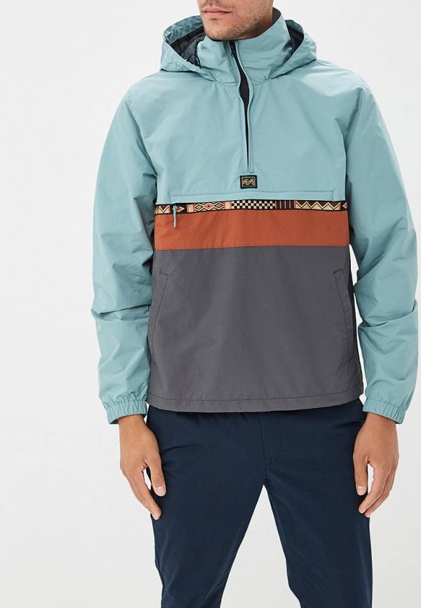 мужская куртка billabong, бирюзовая