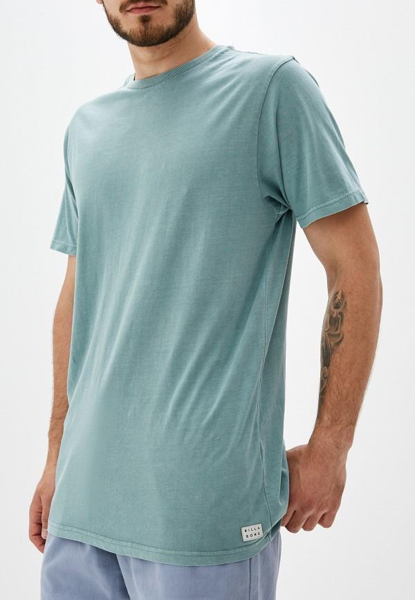 мужская футболка с коротким рукавом billabong, зеленая