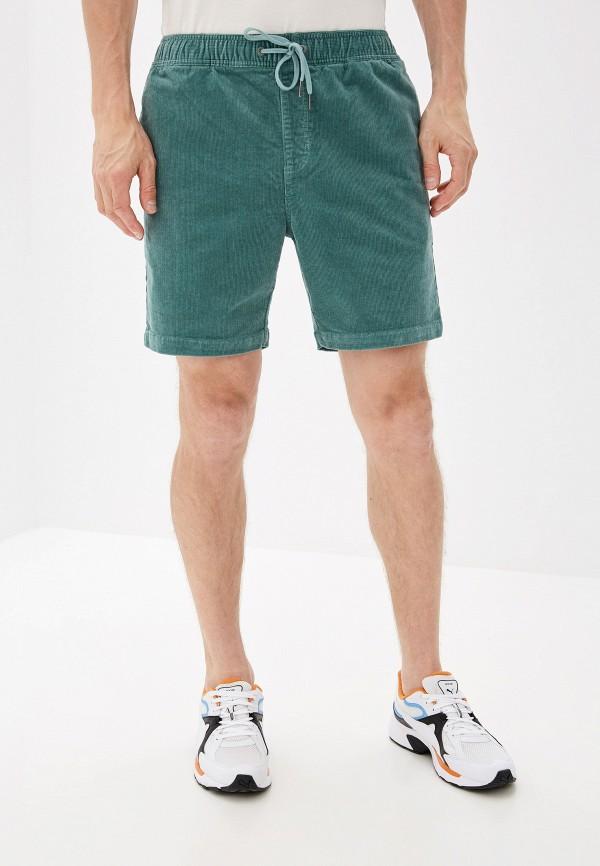 мужские повседневные шорты billabong, зеленые