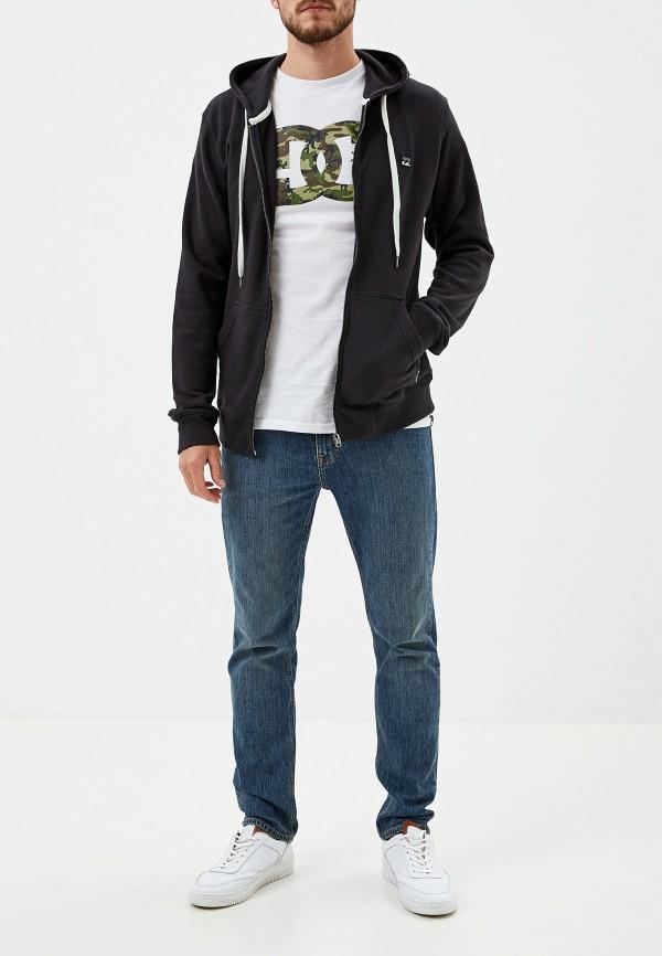 Фото 2 - мужскую толстовку Billabong черного цвета