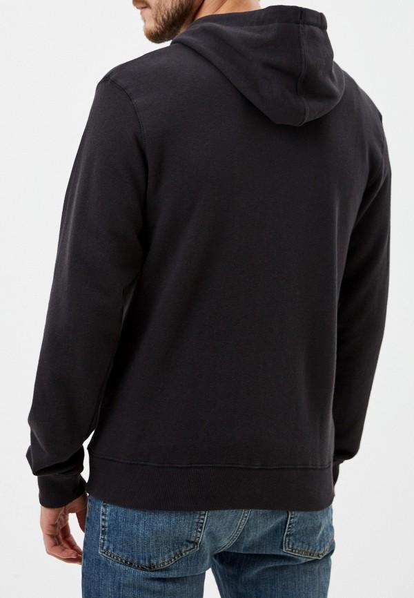 Фото 3 - мужскую толстовку Billabong черного цвета