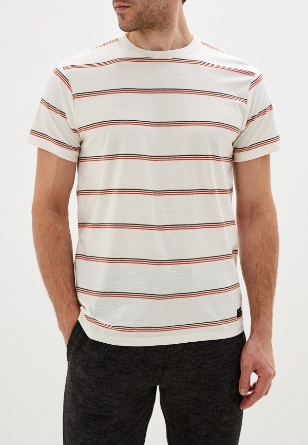 мужская футболка с коротким рукавом billabong, белая