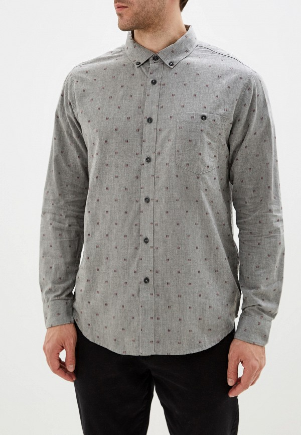 мужская рубашка billabong, серая
