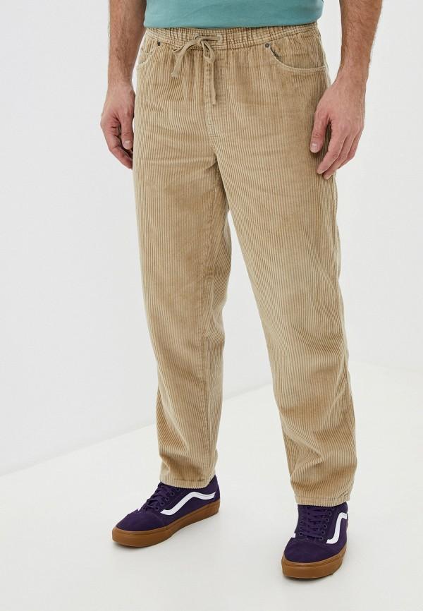 мужские брюки billabong, бежевые