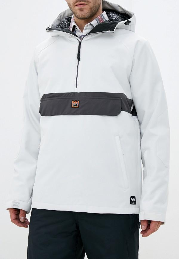 мужская куртка billabong, белая