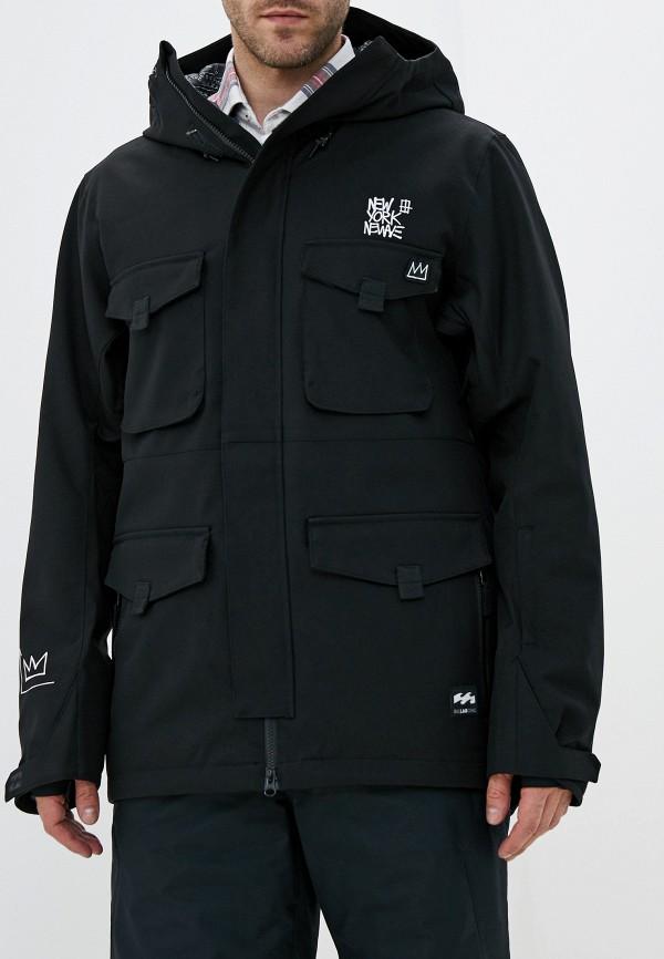 мужская куртка billabong, черная