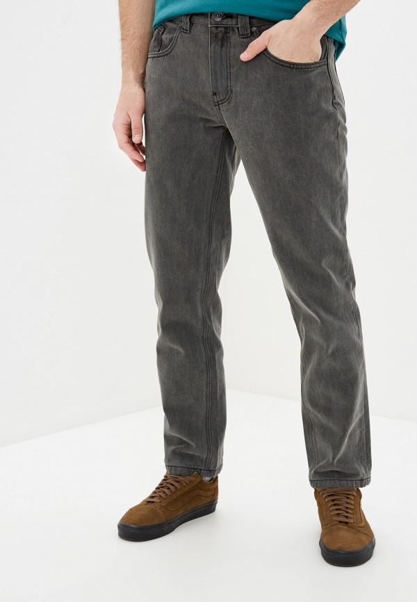 мужские зауженные джинсы billabong, серые