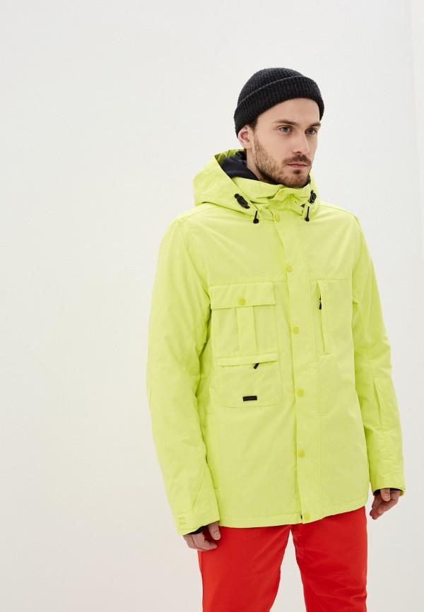 мужская куртка billabong, желтая