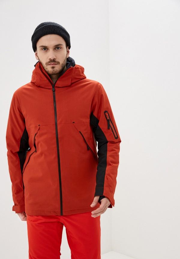 мужская куртка billabong, красная