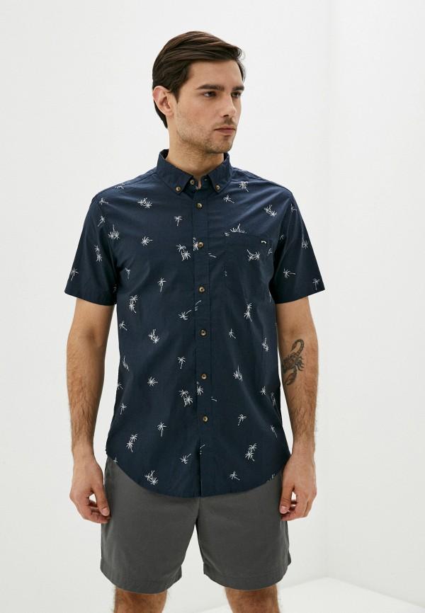 мужская рубашка billabong, синяя