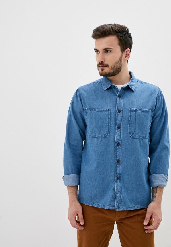 мужская рубашка billabong, голубая